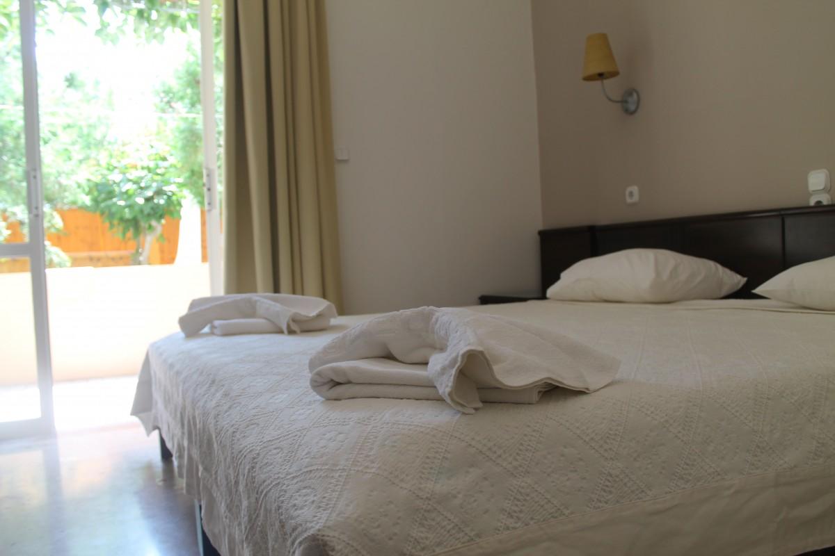 Crete Yoga Holiday Bedroom